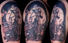top 10 nightmare before christmas tattoos fandomania