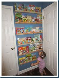 behind the door bookshelf doesn u0027t take up any extra space for