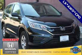 honda crv used certified certified pre owned used 2015 honda cr v for sale in alexandria va