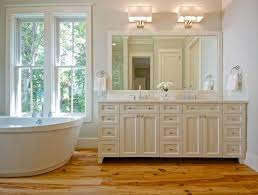 pine hardwood floor transitional bathroom lenox