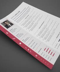 Resume Template Design 17 Best Resume Templates Images On Pinterest Professional Resume