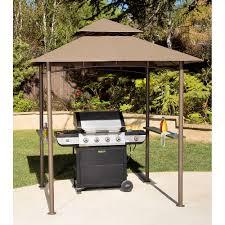 Patio Gazebos And Canopies by Double Roof Grill Shelter Gazebo 8 U0027 X 5 U0027 Walmart Com