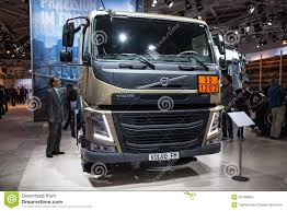volvo commercial 2016 volvo fm truck editorial stock image image 45108884