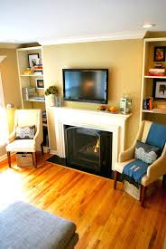 fireplace amazing built in fireplace designs for living ideas