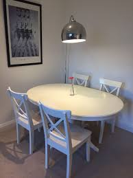 ikea extendable dining table ingatorp 4 ingolf dining chairs