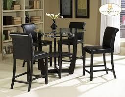 Homelegance Sierra Counter Height Dining Table - Counter height dining table in black