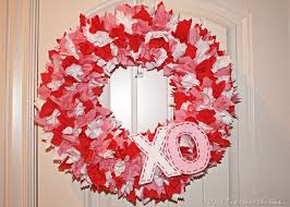 valentines day wreath fabric s day wreath from that s what che said