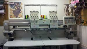 swf 2 head 12 needle embroidery machine for sale