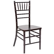 black chiavari chairs classic series mahogany resin chiavari chair with steel