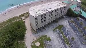 abandoned holiday inn jensen beach drone video youtube