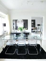 grande table cuisine table en verre avec chaises 1 plateau de table en verre verre tremp
