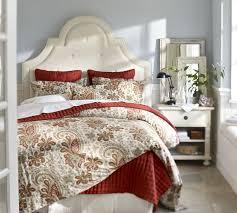 Paisley Comforters Charlie Paisley Organic Duvet Cover U0026 Sham Red Pottery Barn
