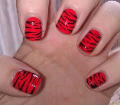 tiger print nails u2013 rara reid