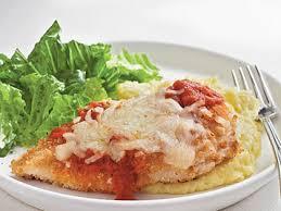 Fried Parmesan Oven Fried Chicken Parmesan Recipe Myrecipes