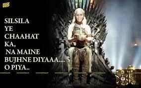 Chair Game Of Thrones Warning Game Of Thrones Indian Version U0027rani Mahal U0027 Starring