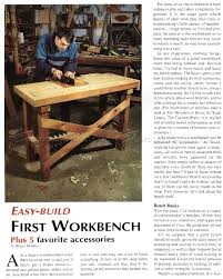simple workbench plans u2022 woodarchivist