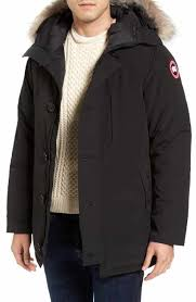 canada goose chateau parka coffee mens p 11 s black coats s black jackets nordstrom