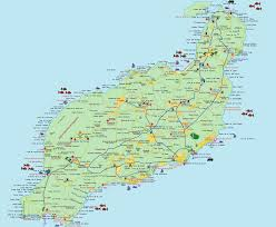 Detailed Map Of Spain by Large Lanzarote Maps For Free Download And Print High Resolution