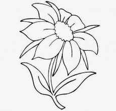 how to draw beautiful flowers for kids how to draw a flower for