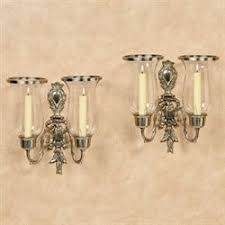Nickel Candle Wall Sconce Wall Sconces Wall Candleholders And Wall Candelabras Touch Of