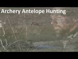 Bow Hunting From A Ground Blind Antelope Bow Hunt Archery Pronghorn Hunting How To Hunt On A Field