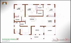 floor plans for 4 bedroom houses kerala house plans single floor awesome house plan kerala house
