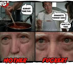 Rick Grimes Memes - almost time for spaghetti tuesday carl don t do this cra2 rick