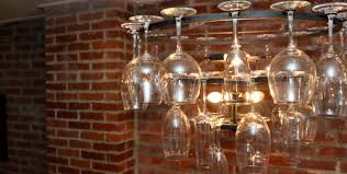 Wine Glass Chandelier Diy Wine Glass Chandelier Don T Ask Where The Wine Glasses Are Again