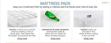 home design classic mattress pad mattress pads mattress toppers and pads macy s