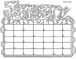 Calendar Coloring Pages free calendar coloring pages from doodle alley homeschool