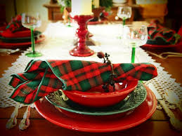 Christmas Dining Table Decoration 33 red and silver table setting ideas for christmas