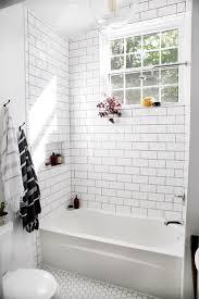 bathroom 3x6 glass subway tile subway tile bathrooms grey