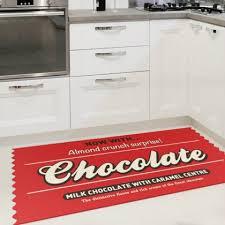 tapis de cuisine au metre tapis de cuisine chocolate cadeau maestro