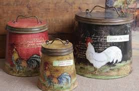 country kitchen canisters sets gorgeous country canister sets for kitchen roselawnlutheran of