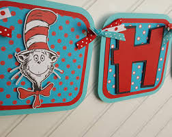 Cat In The Hat Party Decorations Cat In The Hat Party Etsy