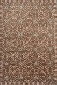 Modern Contemporary Rug Contemporary Modern Brown Wool Tibetan Hand Knotted Rug Indo