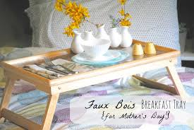 diy tray diy faux bois tray for mother s day making lemonade