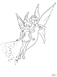 disney tinkerbell coloring pages free friends pictures image
