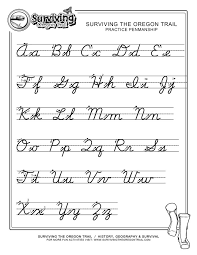 how to write in cursive worksheets worksheets