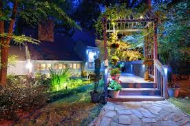 impressive outdoor yard lights landscape lighting st louis outdoor