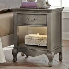 Silver Nightstand Ls Abbyson Valentino Mirrored 2 Drawer Nightstand Antique Silver