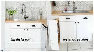 Hidden Kitchen Storage Turn A Filler Panel Into A PullOut - Cabinet kitchen storage