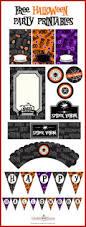 birthday banner halloween printables u2013 halloween wizard