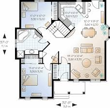 two bedroom home plans floor plan one two porch wrap layouts design elderly site log