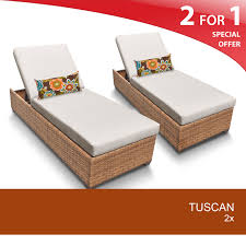 Patio Chair Set Of 2 by Tk Classics Tuscan2xvar Tuscan Chaise Set Of 2 Outdoor Wicker