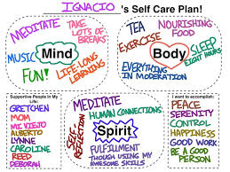 Counselor Self Care Tips Way Of Putting Together A Self Care Plan For Self Or Client