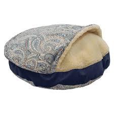 snoozer show dog orthopedic microsuede cozy cave pet bed hayneedle