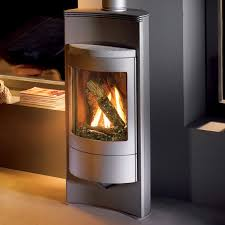 Corn Furnace Luno 8160 Gas Stove By Hearthstone Made With Two Semicircular