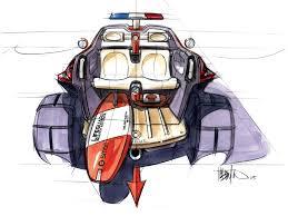 amphibious rescue vehicle 2006 smart rescue vehicle drawing rear 1024x768 wallpaper