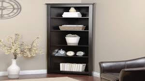 Cherry Bookcase With Glass Doors by Cherry Wood Corner Shelf Corner Bookshelf Cherry Corner Bookshelf